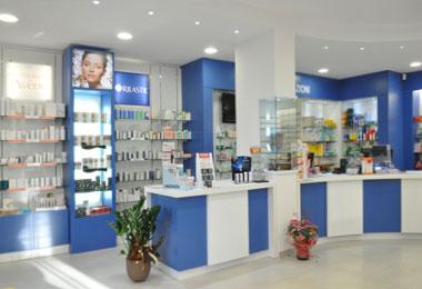 realizzazione arredo progetto farmacia