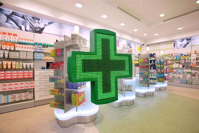 arredamento progetto farmacia