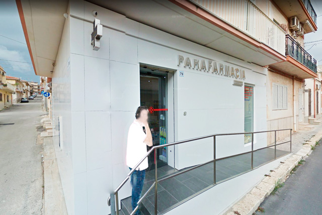 Lamiera Arredamento : Parafarmacia rivestimento facciata lamiera danu arredamento